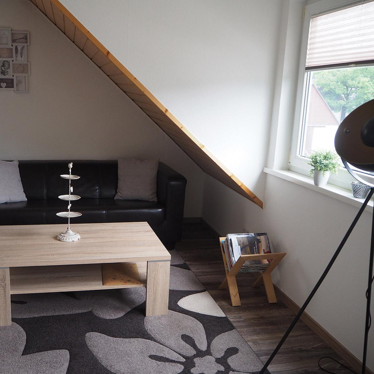 Ferienwohnungen Naturzeit Studio Wohnbereich