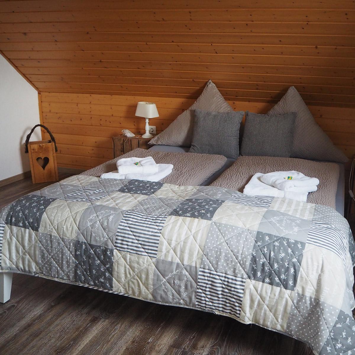 Ferienwohnungen Naturzeit Studio Schlafzimmer