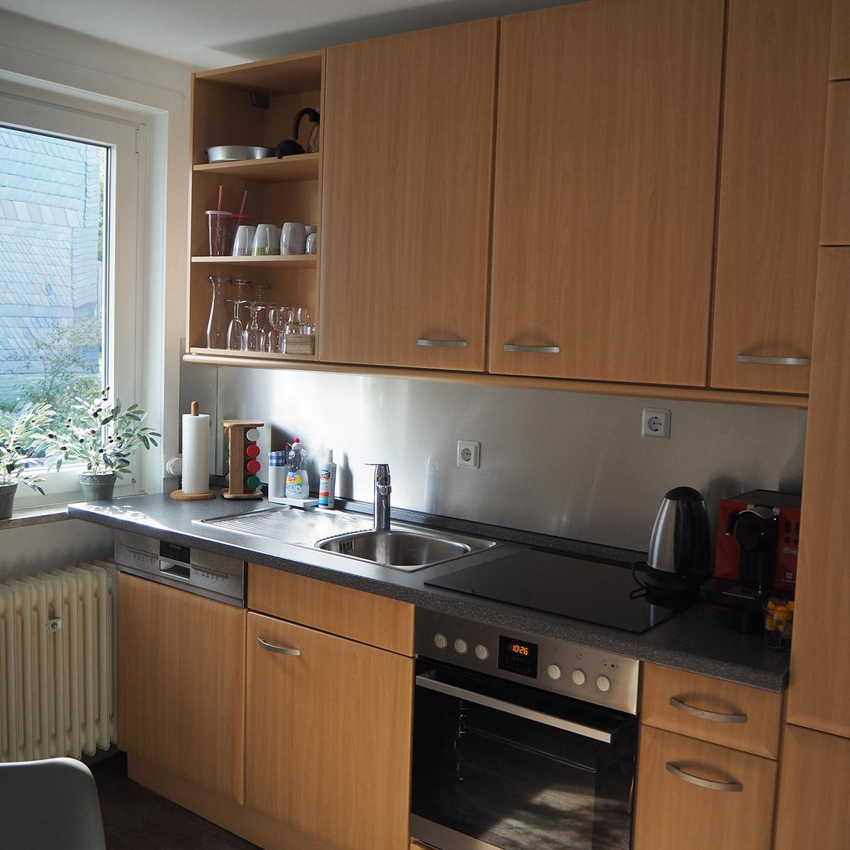 Ferienwohnungen Naturzeit Ruhezeit Küche