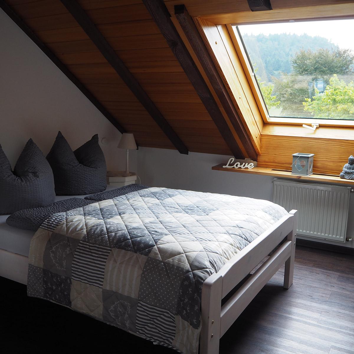 Ferienwohnungen Naturzeit Ruhenest Schlafzimmer