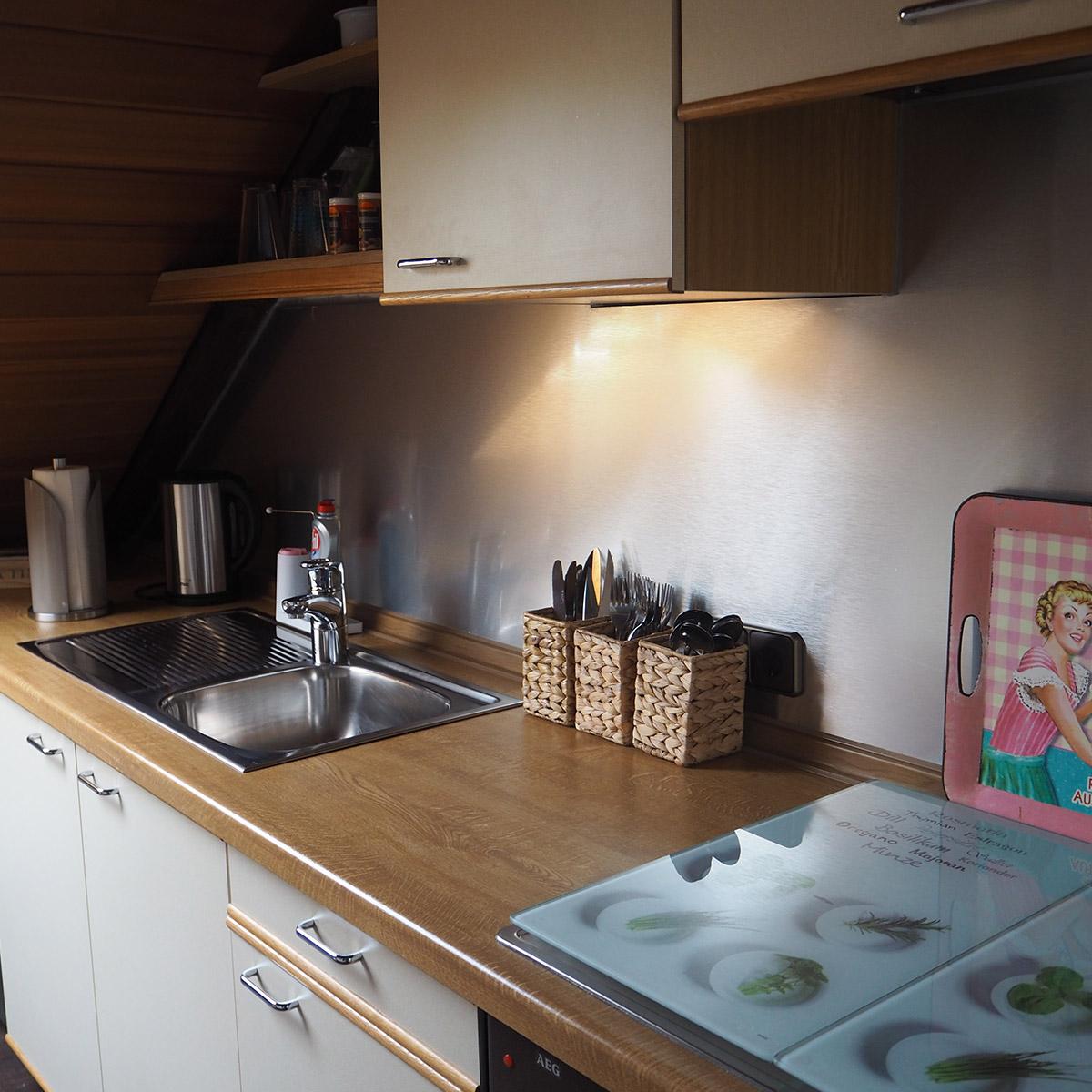 Ferienwohnungen Naturzeit Ruhenest Küche